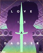 Love is a Dagger - Loki Poster