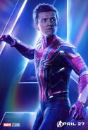 Avengers Infinity War Spider-Man Poster