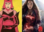 Scarlet Witch-comic Comparison