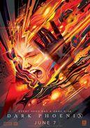 Dark Phoenix Wonder Con Poster