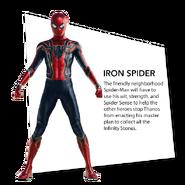 Spider-Man Iron Spider Infinity War Bio