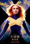 Dark Phoenix Light Poster
