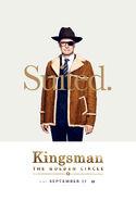 Kingsman The Golden Circle Hart character poster