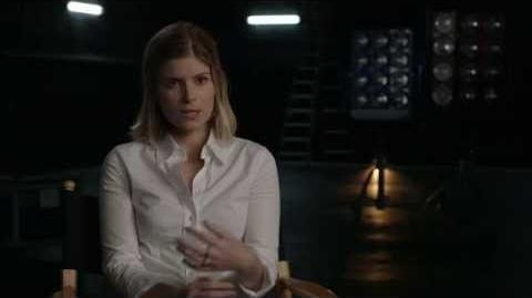 """The Fantastic Four Kate Mara """"Sue Storm"""" Behind the Scenes Movie Interview -2015"""