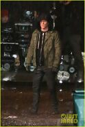 Deadpool filming Reynolds