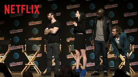 Marvel's The Defenders NYCC Surprise Netflix