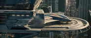 Avengers tower-Quinjet pad