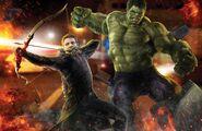 AoU Hawkeye Hulk