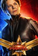 Captain Marvel Character Poster 06