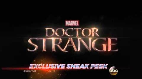 MarvelWeek – Doctor Strange Promo