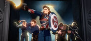 Peggy Carter Howling Commandos What If...