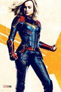 Captain Marvel Fullbody Poster