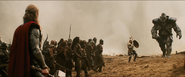 Thor vs. a Kronan