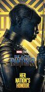 Gold Black Panther Poster 04