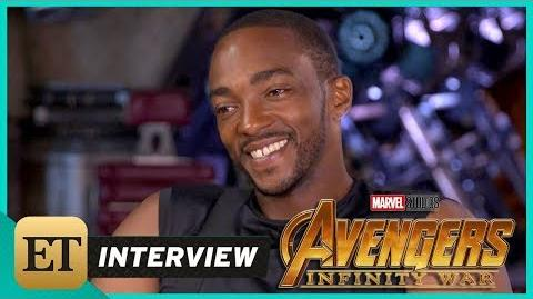 'Avengers Infinity War' Anthony Mackie (FULL INTERVIEW)