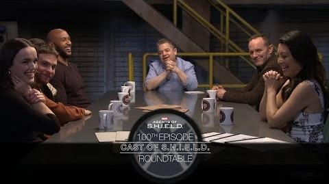 Cast of S.H.I.E.L.D. Roundtable - Marvel's Agents of S.H.I.E.L.D
