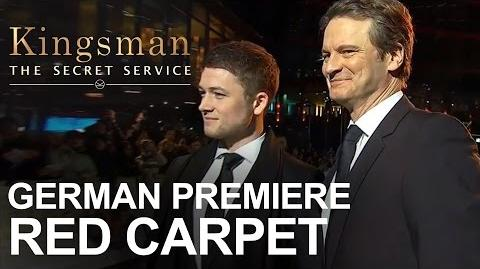 Kingsman The Secret Service German Premiere - Red Carpet