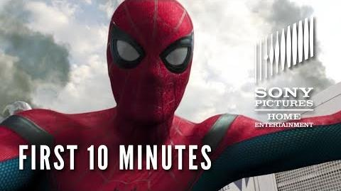 SPIDER-MAN HOMECOMING First 10 Minutes!
