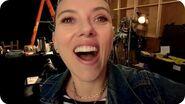 Scarlett Johansson Leaks Black Widow Footage… Sort Of Omaze