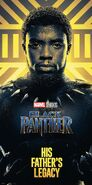 Gold Black Panther Poster 01