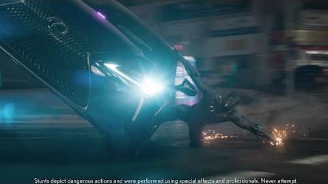 2018 Lexus LC Marvel Studios' Black Panther TV Commercial