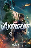 Hulk promo poster