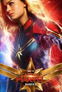 Captain Marvel Character Poster 01