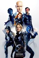 X-Men Apocalypse Defend Poster-0