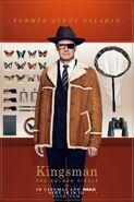 Kingsman The Golden Circle Hart character UK poster 2