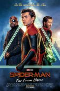 Spider-Man Far From Home Alt Theatrical Poster