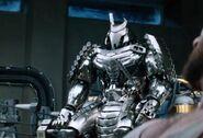 Silverwarriorrobot