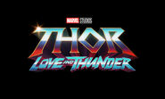 Thor- Love & Thunder new logo