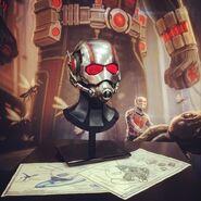 Ant-Man helmet Comic-Con