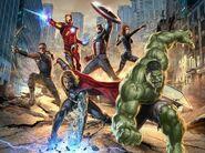Avengers team promo