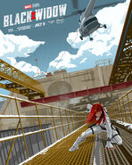 Black Widow The Dark Inker Poster
