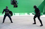 Captain America Civil War Filming BTS 6