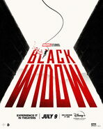 Black Widow SG Poster