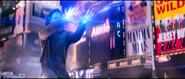 Electro attacking Spider-Man