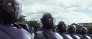 Sentinels line up