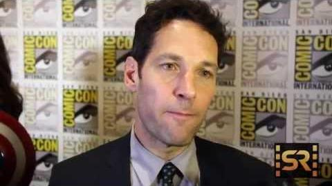 Ant-Man - Paul Rudd Interview Comic-Con 2014