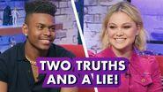 Olivia Holt & Aubrey Joseph Spill Cloak & Dagger Secrets Earth's Mightiest Show