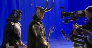 The Other and Loki BTS The Avengers