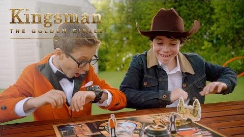 """Kingsman The Golden Circle """"The Official Game"""" TV Commercial 20th Century FOX"""