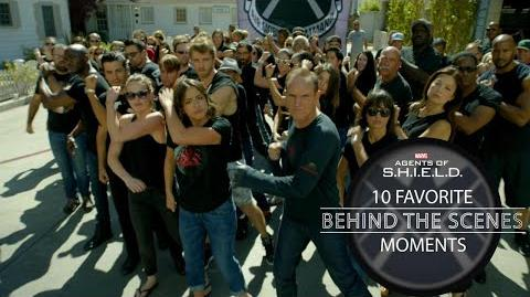 10 Favorite Behind-the-Scenes Moments - Marvel's Agents of S.H.I.E.L.D