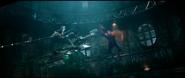 Spider-Man avoiding Goblin
