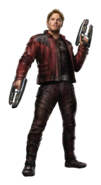 Avengers infinity war star lord Peter Quill