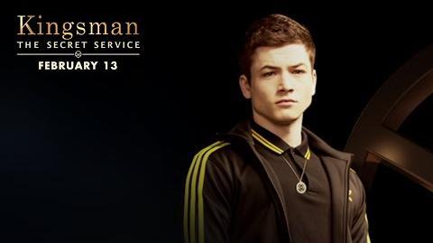 Kingsman The Secret Service Meet Eggsy HD 20th Century FOX