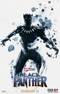 Black Panther Dolby Poster