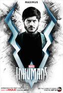 Inhumans Maximus character poster