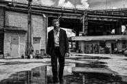 Logan in a Suit